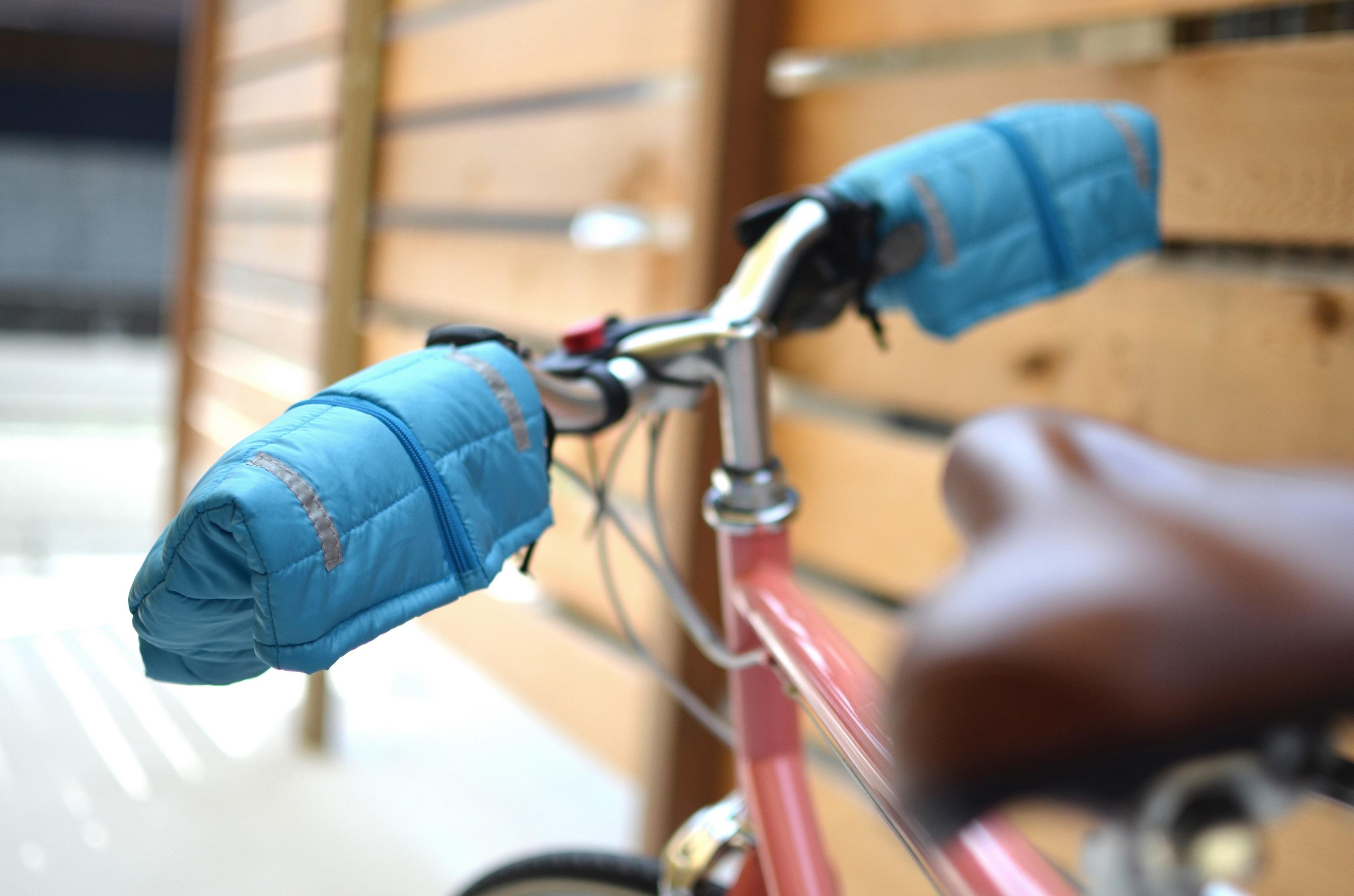 K4100 サイクルジャケット ハンドルカバー カーキ