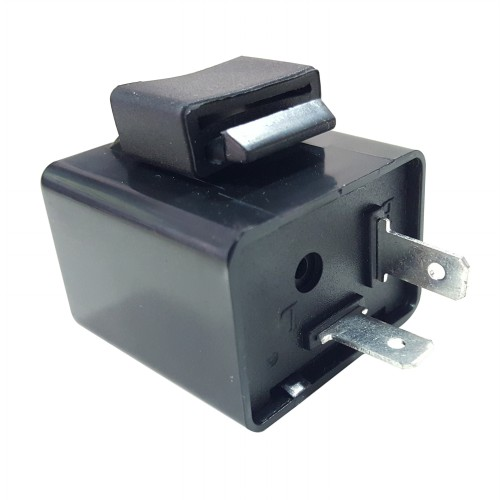 二輪車用12V(2端子) リレー角 ノーマル電子音有
