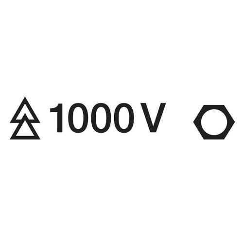 9801-22 絶縁メガネ 1000V 20mm