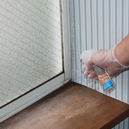 窓ガラス・押入れ・畳用 結ろ・抗カビスプレー