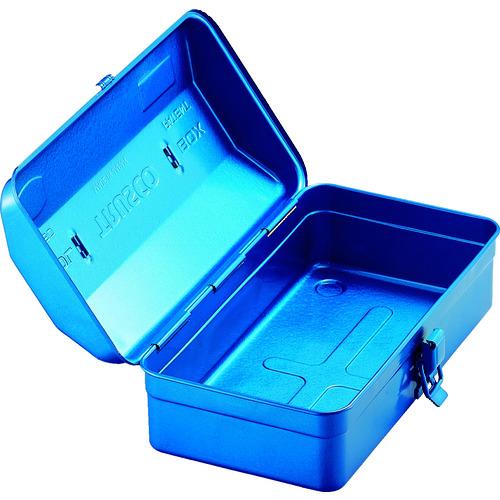 山型工具箱 304×164×123 ブルー