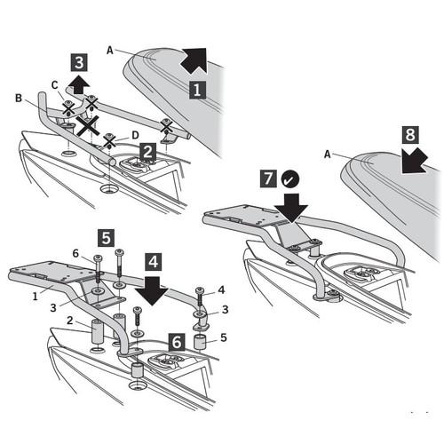 トップマスターフィッティングキット 125MASK(18-19)
