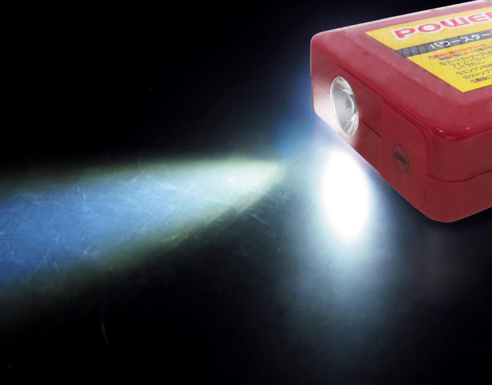 リチウムイオン4700mAh内蔵ジャンプスターター12V用