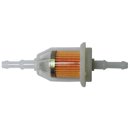 ガソリンフィルター ホース内径6mm/8mm両用 ペーパータイプ