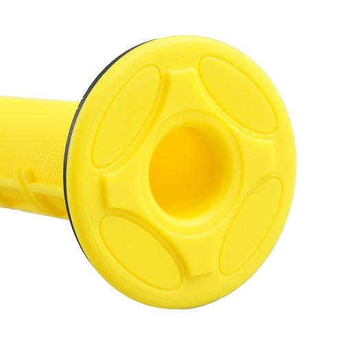 ハンドルグリップ オフロード用 イエロー 118mm