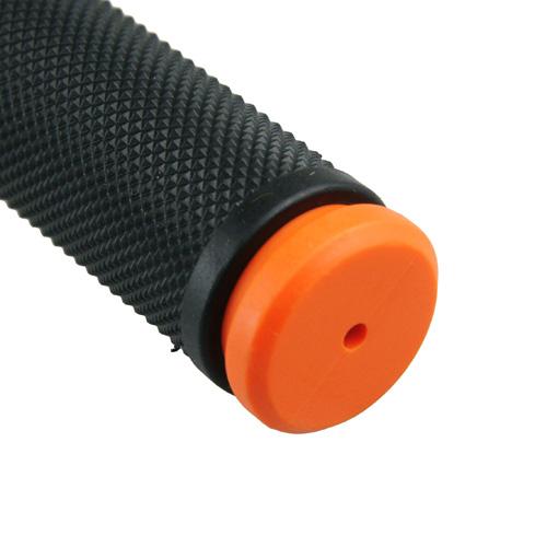 ハンドルグリップ TPE オレンジ 120mm