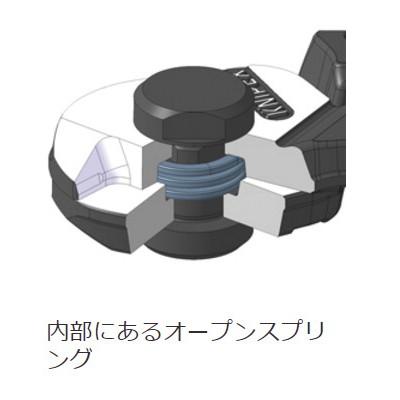 ワイヤーロープカッター 落下防止(BK)