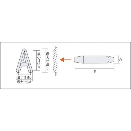 バラ刻印 3mm J