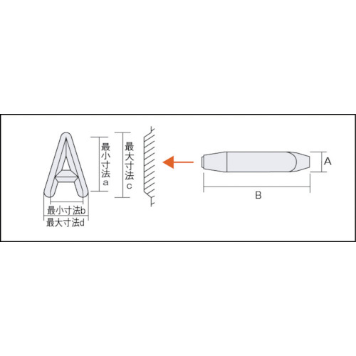 バラ刻印 3mm O