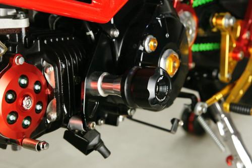 GROM エンジンスライダー シルバー