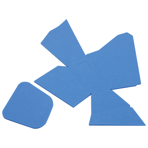 ポケットクッションセット ブルー