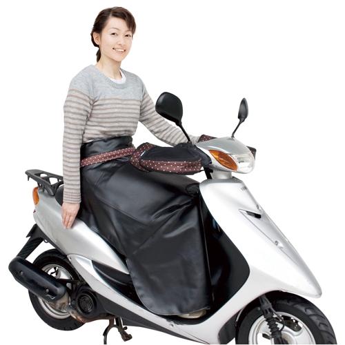【季節商品】LC-F3600 防寒ひざあて スタイリッシュ 水玉茶