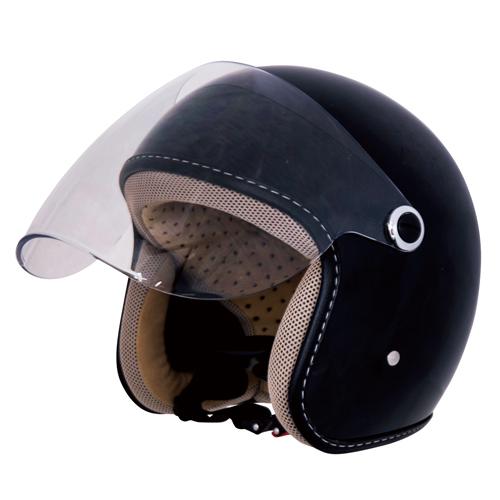 CJT-01 ジェットヘルメット ブラック
