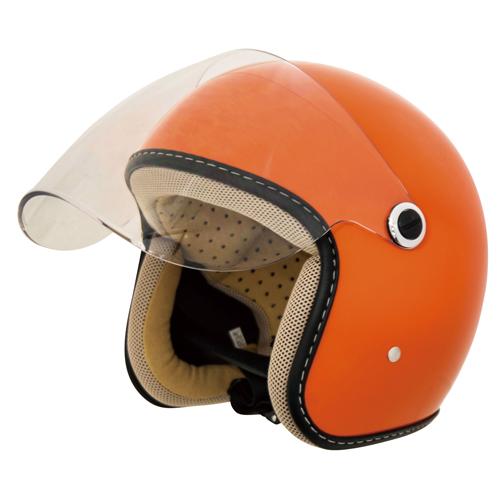 CJT-03 ジェットヘルメット オレンジ