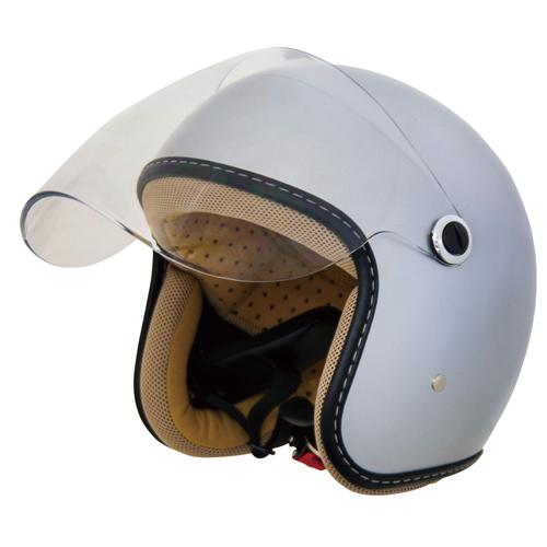 CJT-05 ジェットヘルメット シルバー