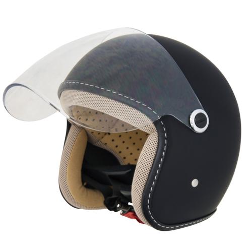 CJT-07 ジェットヘルメット マットブラック