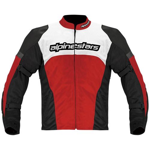 【季節商品】FENDING AIR ジャケット ブラック/レッド/ホワイト XL