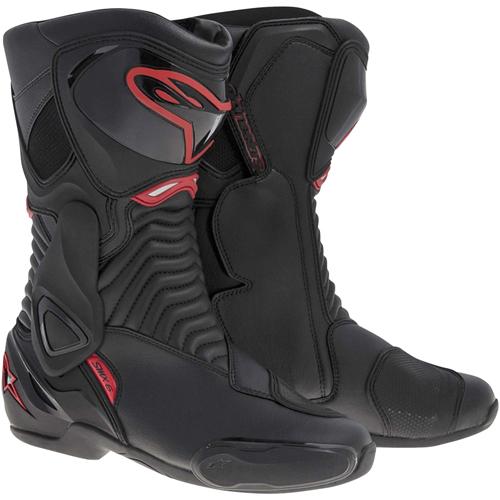 SMX 6 ブーツ ブラック/レッド 48