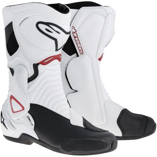 SMX 6 ブーツ ホワイト/ブラック/レッド 42