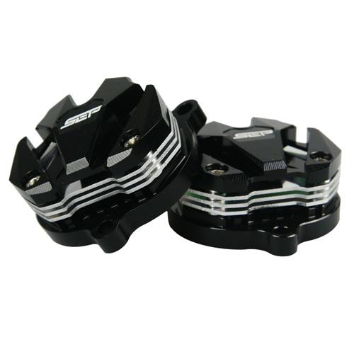タペットカバー シグナスX BWS125 ブラック/シルバー