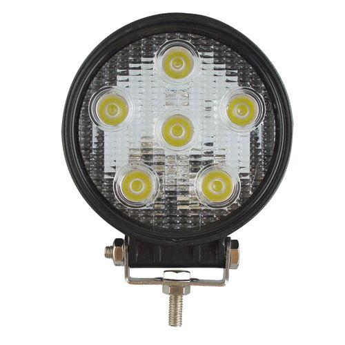 LEDワークライト 作業灯投光器 丸型 18W