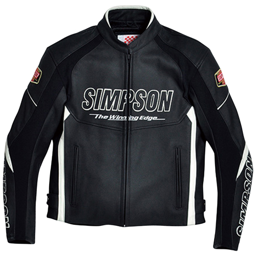 SIMPSON SLJ-4111 WH M レザージャケット
