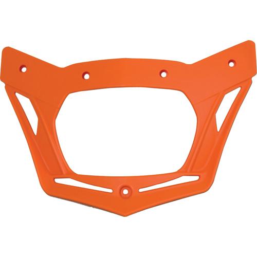 RACETECH BASEMASKAR8 V-FACE リペアメントヘッドライトフレーム オレンジ