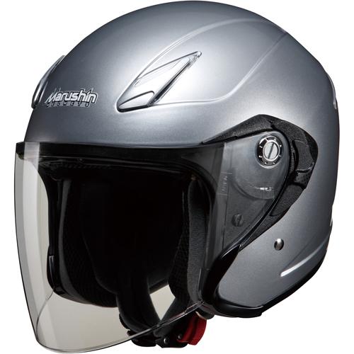 ジェットヘルメット M-430 フリー シルバー