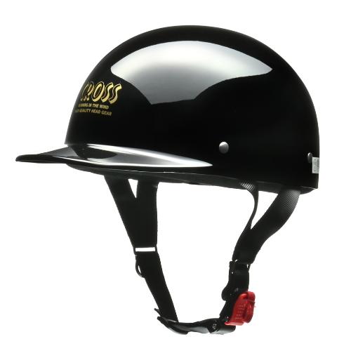 CROSS CR-680 ハーフヘルメット ブラック
