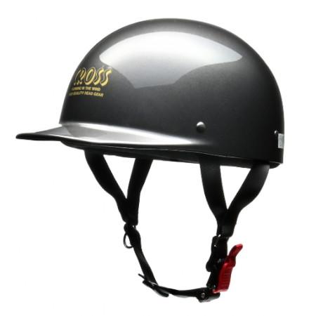 CROSS CR-680 ハーフヘルメット ガンメタリック