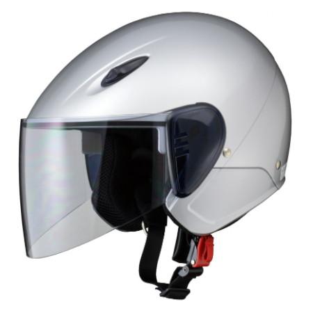 SERIO RE-35 セミジェットヘルメット シルバー