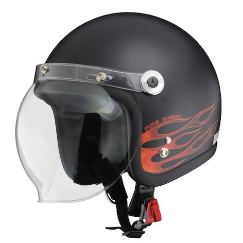 BARTON BC-10 ジェットヘルメット ファイアエンジェル
