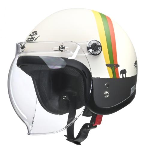 Street Alice QP-2 スモールロージェットヘルメット アフリカ
