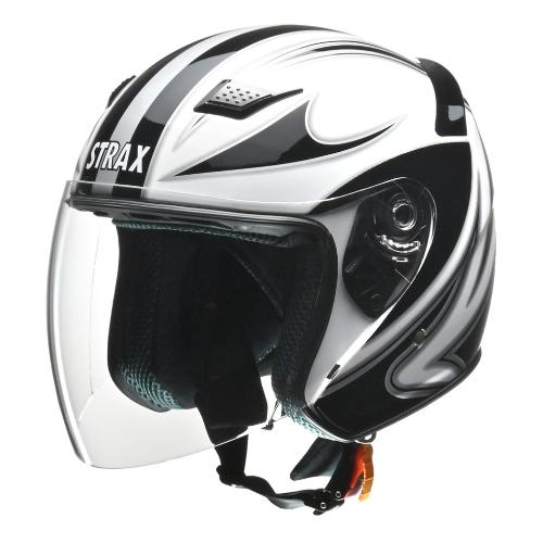 STRAX SJ-9 ジェットヘルメット ホワイト LL