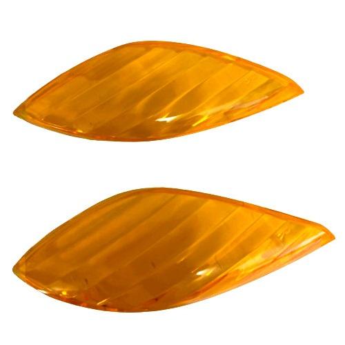 JOG SA36/39J フロントウィンカーレンズ左右 オレンジ