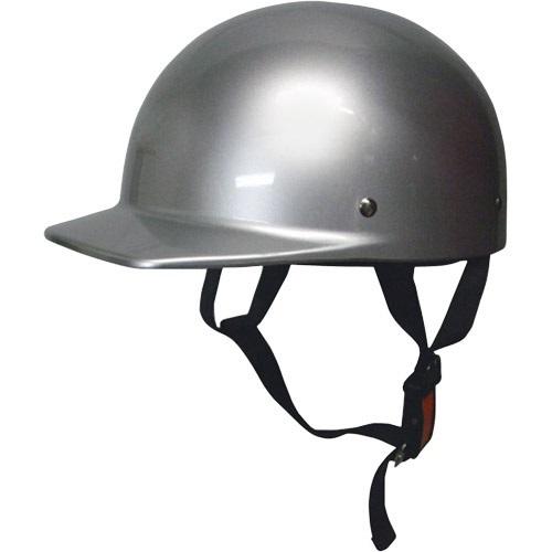 ハーフキャップヘルメット シルバー