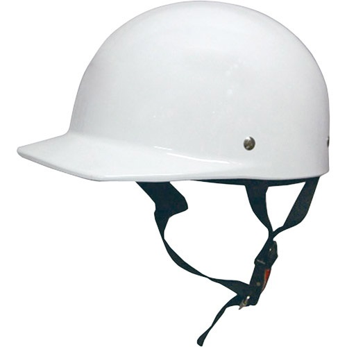 ハーフキャップヘルメット ホワイト
