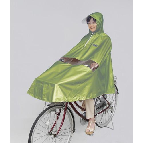 D-3PORA 自転車屋さんのポンチョ プレミアム グリーン