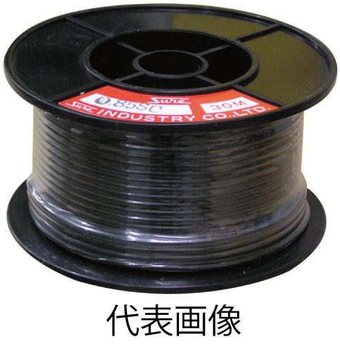1.25sq ビニールコード 黒 30m