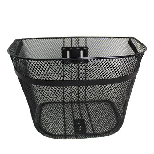 D型メッシュバスケット(プレート入) ブラック