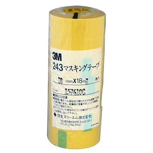 243マスキングテープ 18mm×18m