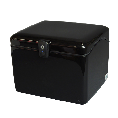 NEWラゲージBOX L ブラック 標準仕様(鍵番号共通タイプ)