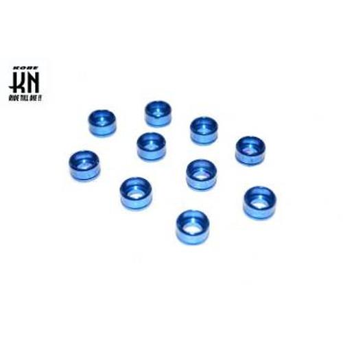 アルミ削出し ヘックスボルトカバー M6ボルト用 10個入 ブルー
