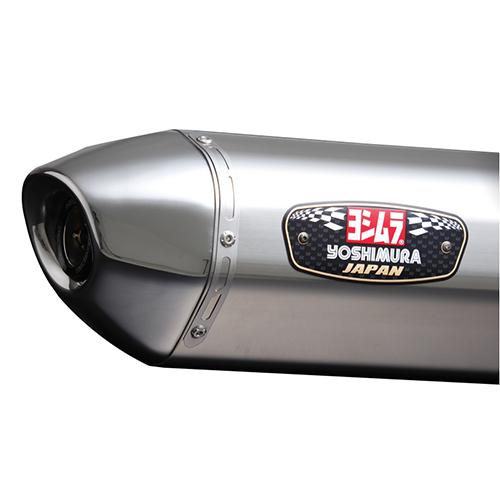 【受注生産品】Slip-On R-77J サイクロ ステンレスエンド EXPORT SPEC 政府認証 (SSS)