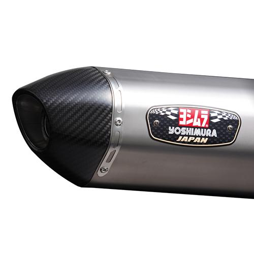 【受注生産品】Slip-On R-77J サイクロ カーボンエンド EXPORT SPEC 政府認証 (STC)