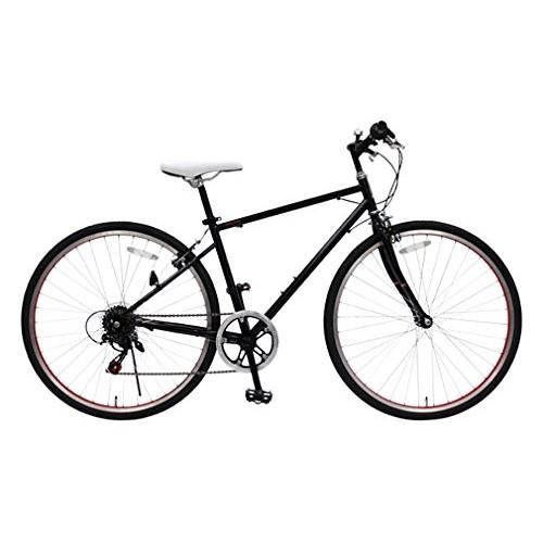 【直送】26型シティクロスバイク ブラック