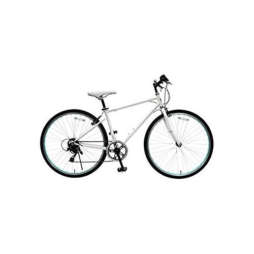 【直送】26型シティクロスバイク ホワイト
