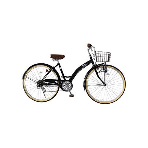 【直送】26型シティサイクル ブラック