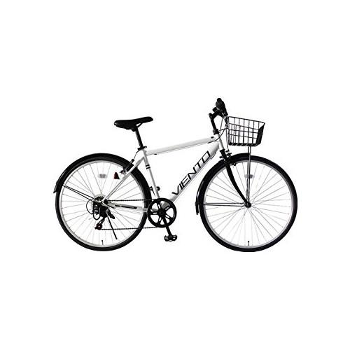 【直送】VIENTO 26型シティクロスバイク ホワイト