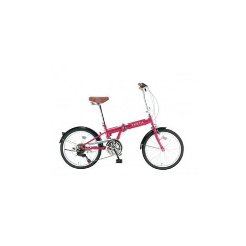 【直送】TESTA 20型折り車 ピンク